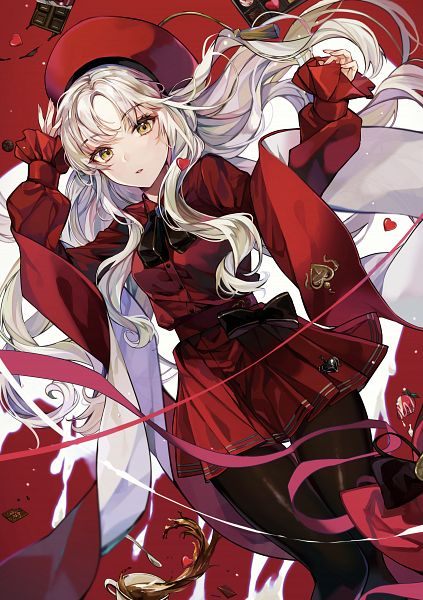 Tags: Anime, Pixiv Id 13629545, Fate/Grand Order, Amor (Caren), Caren Hortensia, Chocolate Box, Pixiv, Fanart, Fanart From Pixiv