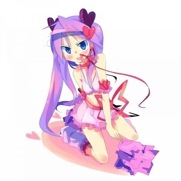 Tags: Anime, Kanikama, Lucky☆Star, Hiiragi Kagami, Amulet Heart (Cosplay), Fanart