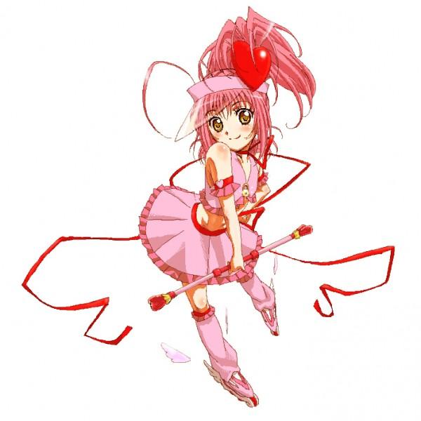 Tags: Anime, Fujimoto Satoru, Shugo Chara!, Amulet Heart, Hinamori Amu, Roller Skates, Pixiv, Fanart, Pixel Art, Fanart From Pixiv