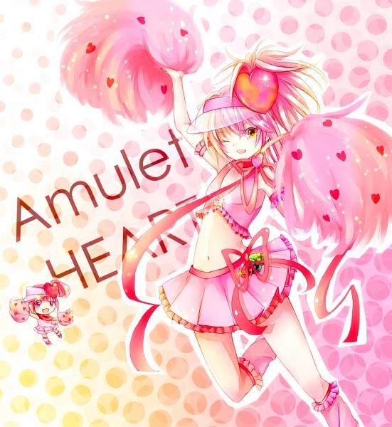 Tags: Anime, Shugo Chara!, Amulet Heart, Hinamori Amu, Ran (Shugo Chara!), Pixiv, Fanart