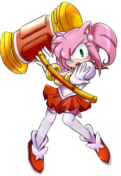 Tags: Anime, Garugirosonicshadow, Sonic the Hedgehog, Amy Rose, Sailor Moon (Character) (Cosplay), Fanart, deviantART, Fanart From DeviantART