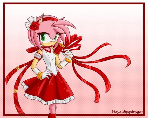 Tags: Anime, Kaya-snapdragon, Sonic the Hedgehog, Amy Rose, Fanart From DeviantART, Fanart, deviantART