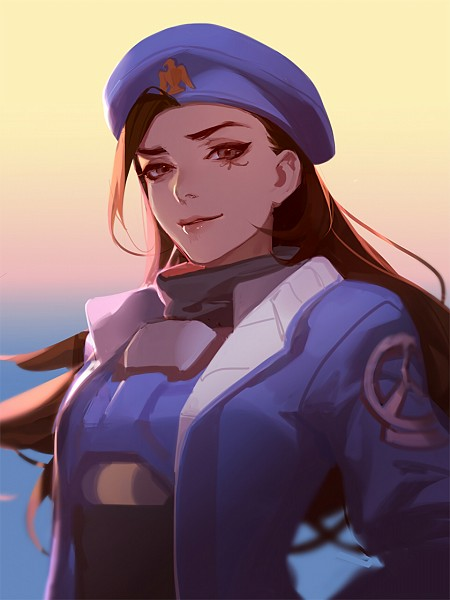 Tags: Anime, Asukaziye, Overwatch, Ana (Overwatch), Pixiv, Twitter, Fanart, Fanart From Pixiv, Mobile Wallpaper, PNG Conversion