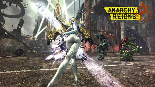 Tags: Anime, Sega, Anarchy Reigns, Big Bull, Zero (Anarchy Reigns), Sasha (Anarchy Reigns), Wallpaper