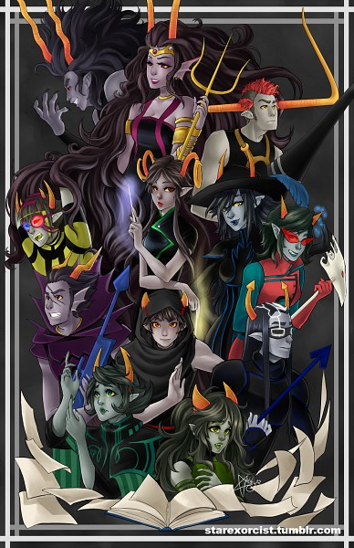 ancestors homestuck zerochan anime image board