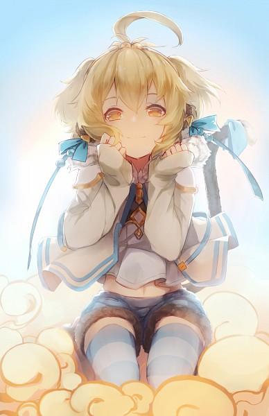 Tags: Anime, Pixiv Id 2758623, Granblue Fantasy, Anchira (Granblue Fantasy), Monkey Tail, Mobile Wallpaper, Fanart From Pixiv, Pixiv, Fanart