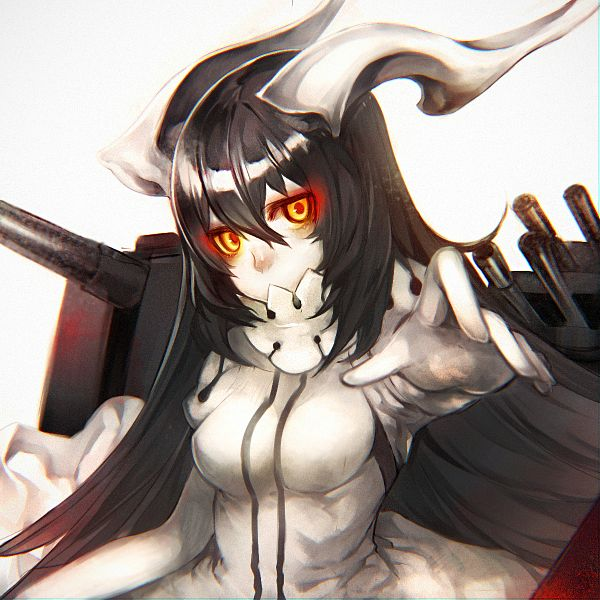 Tags: Anime, Pixiv Id 12789650, Kantai Collection, Anchorage Water Oni (Kantai Collection), PNG Conversion