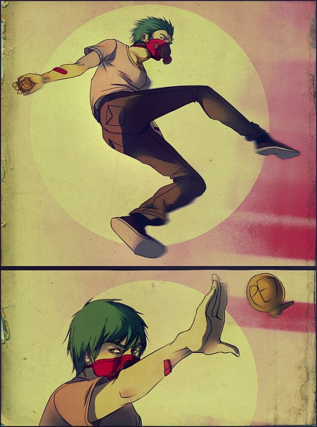 Tags: Anime, Andrahilde, Throwing, Grenade, deviantART