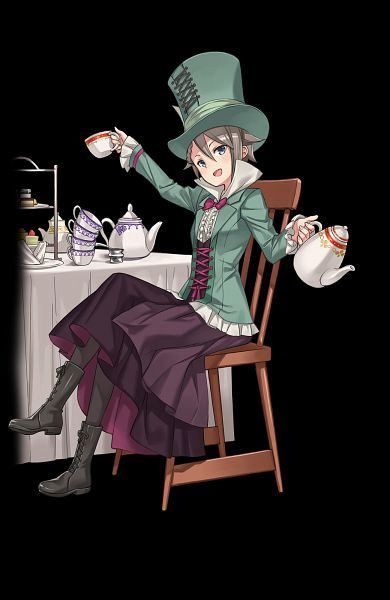 Tags: Anime, Kuroboshi Kouhaku, Princess Principal GOM Production, Princess Principal, Princess Principal GAME OF MISSION, Ange (Princess Principal), Mad Hatter (Cosplay), Official Art
