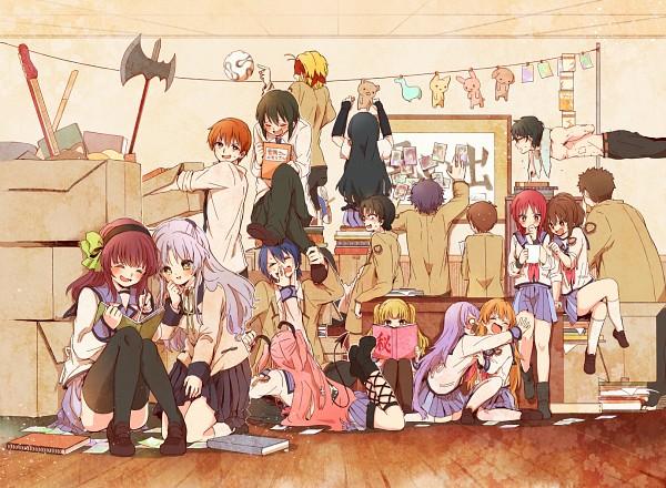 Tags: Anime, Kono Sanorou, Angel Beats!, Fujimaki, Noda (Angel Beats!), Nakamura Yuri, Takamatsu (Angel Beats!), Shiina Eri, Otonashi Yuzuru, Hisako (Angel Beats!), Yui (Angel Beats!), Naoi Ayato, Yusa (Angel Beats!)