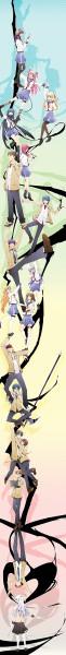 Tags: Anime, hgsueun, Angel Beats!, Iwasawa Masami, Tachibana Kanade, Fujimaki, Noda (Angel Beats!), Hinata Hideki, Takamatsu (Angel Beats!), Ooyama (Angel Beats!), Otonashi Yuzuru, Nakamura Yuri, Hisako (Angel Beats!)