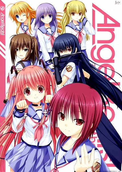 Tags: Anime, Na-ga, KEY (Studio), Angel Beats!, Irie Miyuki, Shiina (Angel Beats!), Yui (Angel Beats!), Hisako (Angel Beats!), Yusa (Angel Beats!), Sekine Shiori, Iwasawa Masami, Scan, Official Art