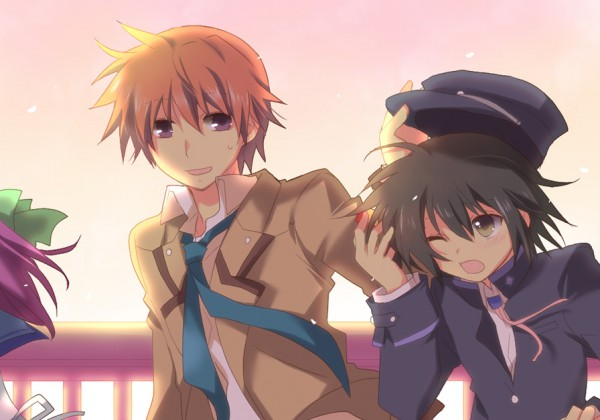Tags: Anime, Pixiv Id 111825, Angel Beats!, Otonashi Yuzuru, Naoi Ayato, Pixiv