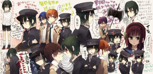 Tags: Anime, Angel Beats!, Otonashi Yuzuru, Nakamura Yuri, Naoi Ayato, Noda (Angel Beats!), Tachibana Kanade, Hinata Hideki, Artist Request