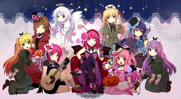 Tags: Anime, Tomako, Angel Beats!, Hisako (Angel Beats!), Tachibana Kanade, Sekine Shiori, Yusa (Angel Beats!), Nakamura Yuri, Irie Miyuki, Iwasawa Masami, Shiina Eri, Yui (Angel Beats!), Facebook Cover