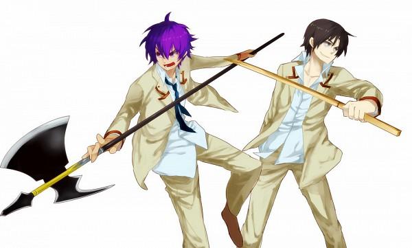 Tags: Anime, Baru Smoo, Angel Beats!, Fujimaki, Noda (Angel Beats!)