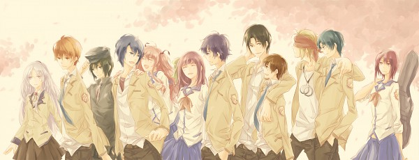 Tags: Anime, Himishiro, Angel Beats!, Noda (Angel Beats!), Nakamura Yuri, Otonashi Yuzuru, Ooyama (Angel Beats!), Naoi Ayato, Yui (Angel Beats!), TK (Angel Beats!), Tachibana Kanade, Iwasawa Masami, Hinata Hideki
