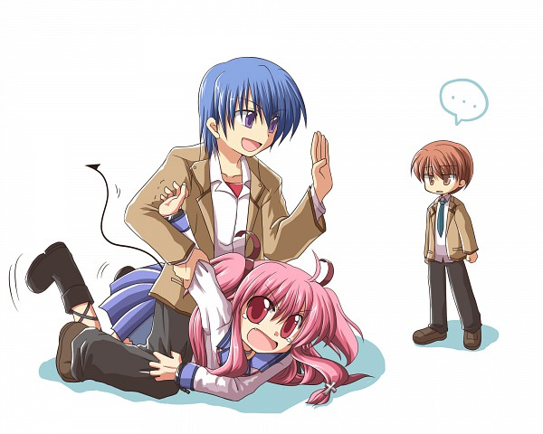Tags: Anime, Ryuuga Nanamaru, Angel Beats!, Otonashi Yuzuru, Yui (Angel Beats!), Hinata Hideki