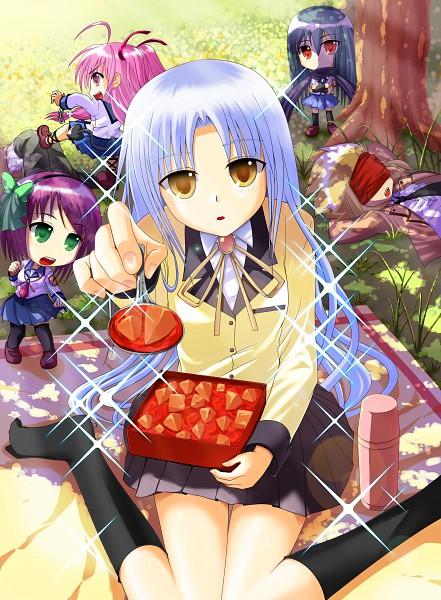 Tags: Anime, Hidamarinet, Angel Beats!, Tachibana Kanade, Nakamura Yuri, TK (Angel Beats!), Shiina Eri, Yui (Angel Beats!)