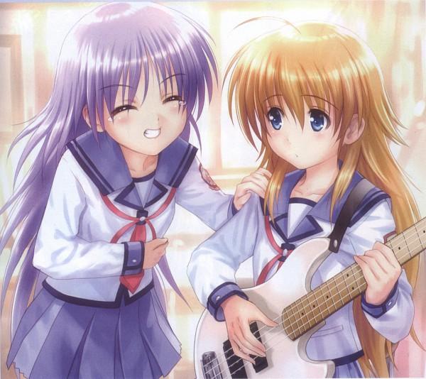 Tags: Anime, Goto-P, Angel Beats!, Sekine Shiori, Irie Miyuki