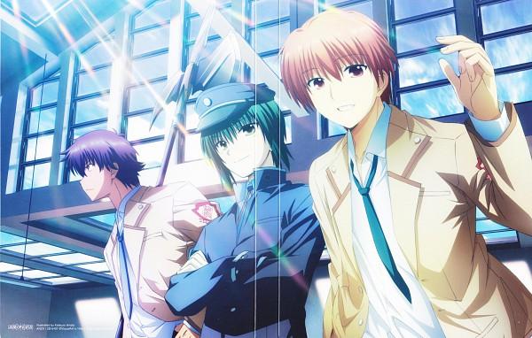 Tags: Anime, P.A. Works, Angel Beats!, Otonashi Yuzuru, Naoi Ayato, Hinata Hideki