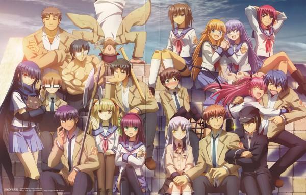 Tags: Anime, Hirata Katsuzou, P.A. Works, Angel Beats!, Irie Miyuki, Ooyama (Angel Beats!), Naoi Ayato, Nakamura Yuri, Hisako (Angel Beats!), Shiina Eri, Takeyama, Yusa (Angel Beats!), Yui (Angel Beats!)