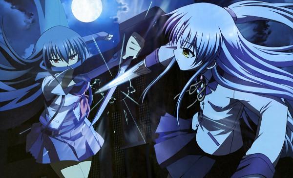 Tags: Anime, Uchida Shinya, P.A. Works, Tachibana Kanade, Shiina Eri, Wallpaper, Official Art