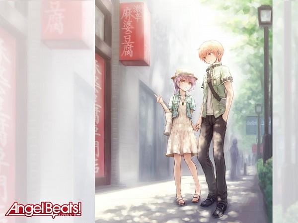 Tags: Anime, Angel Beats!, Otonashi Yuzuru, Tachibana Kanade, Wallpaper