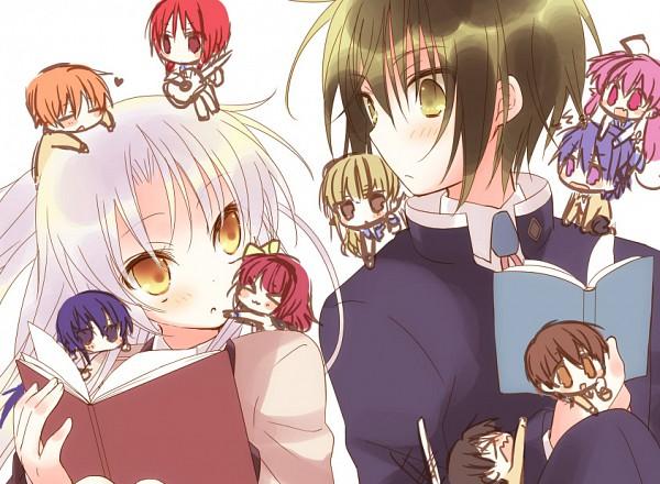 Tags: Anime, Yuuma, Angel Beats!, Yusa (Angel Beats!), Tachibana Kanade, Iwasawa Masami, Hinata Hideki, Otonashi Yuzuru, Ooyama (Angel Beats!), Nakamura Yuri, Naoi Ayato, Shiina Eri, Fujimaki