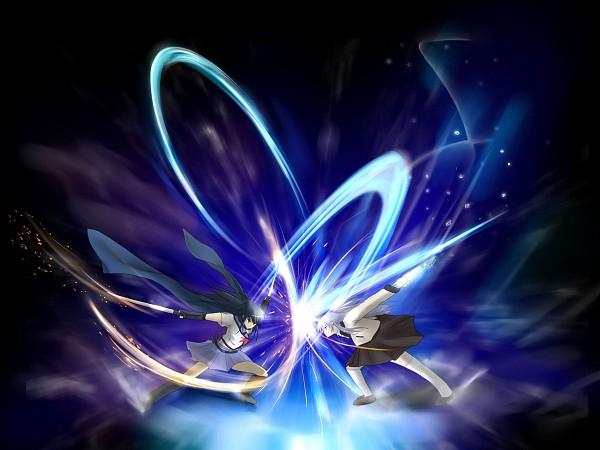 Tags: Anime, Taiga~Midnight, Angel Beats!, Shiina Eri, Tachibana Kanade, Wallpaper