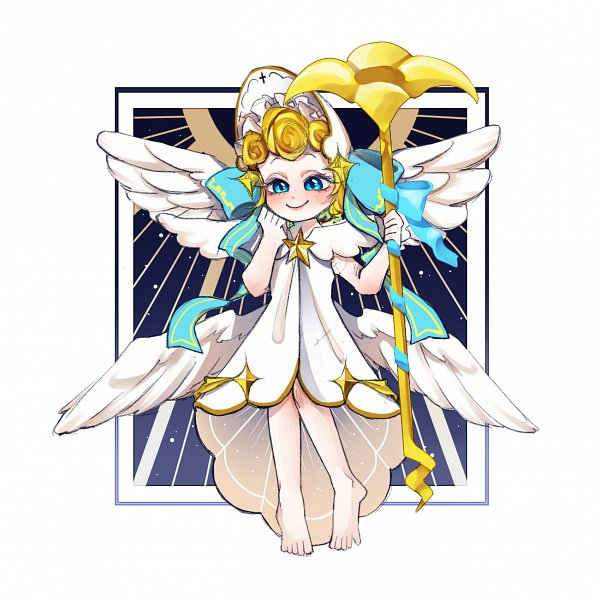 Tags: Anime, Pixiv Id 5396172, Cookie Run: OvenBreak, Cookie Run, Angel Cookie (Voice Of Virtue), Angel Cookie, Fanart From Pixiv, Pixiv, Fanart