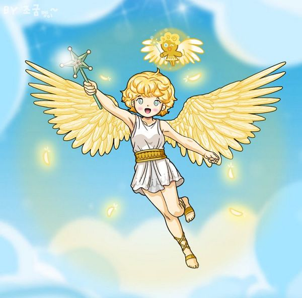 Angel Cookie - Cookie Run