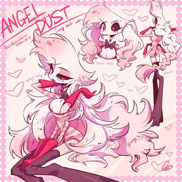 Tags: Anime, 6 (Artist), Hazbin Hotel, Angel Dust (Hazbin), Fanart