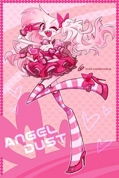 Tags: Anime, Kamiohmutu, Hazbin Hotel, Angel Dust (Hazbin), Twitter