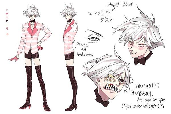Tags: Anime, Pixiv Id 4926210, Hazbin Hotel, Angel Dust (Hazbin), Fanart From Pixiv, Pixiv, Fanart