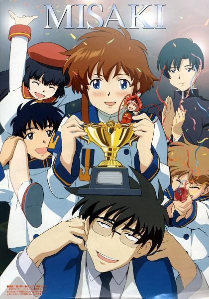 Tags: Anime, Angelic Layer, Tamayo Kizaki, Kobayashi Kotaro, Ichiro Mihara, Kobayashi Hatoko, Misaki Suzuhara, Ohjiro Mihara, Hikaru (Angelic Layer), Official Art, Scan