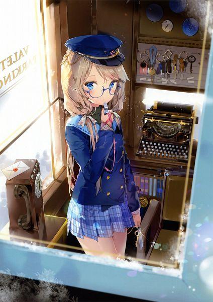 Tags: Anime, Anmi, Eshi 100-nin Ten 04, Whistle (Object), Scan, Mobile Wallpaper