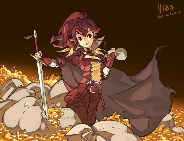 Tags: Anime, Junkpuyo, Fire Emblem: Kakusei, Anna (Fire Emblem), Money