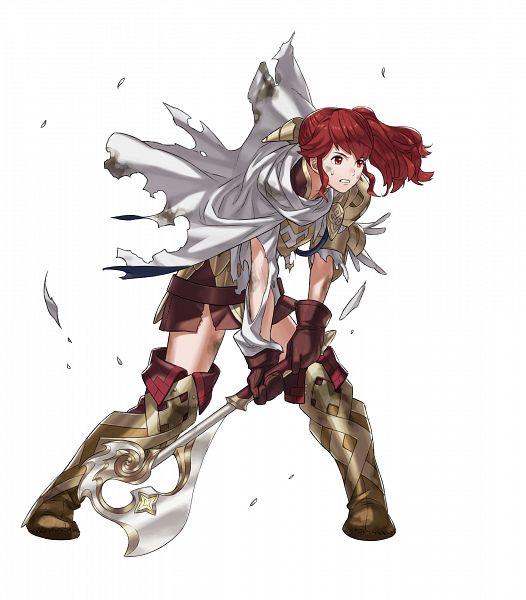 Tags: Anime, Kozaki Yuusuke, Intelligent Systems, Fire Emblem Heroes, Anna (Fire Emblem), PNG Conversion, Official Art
