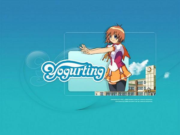 Tags: Anime, Red Duck, Yogurting, Anna (Yogurting), Official Art