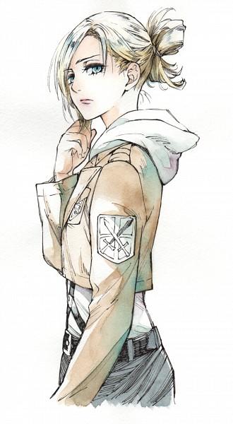 Tags: Anime, Nanami (Pixiv54970), Attack on Titan, Annie Leonhardt, Mobile Wallpaper, Pixiv, Fanart, Fanart From Pixiv