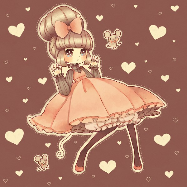 Tags: Anime, Ano (Pixiv236373), Drawers (Victorian), Beehive, Pixiv, Original