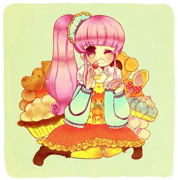 Tags: Anime, Ano (Pixiv236373), Pie, Pixiv, Original