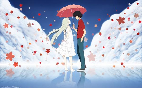 Tags: Anime, Ano Hi Mita Hana no Namae o Bokutachi wa Mada Shiranai., Yadomi Jinta, Honma Meiko, Wallpaper, HD Wallpaper, We Still Don't Know The Name Of The Flower We Saw That Day
