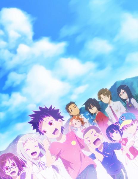 Tags: Anime, Lacosoregashi, Ano Hi Mita Hana no Namae o Bokutachi wa Mada Shiranai., Honma Meiko, Hisakawa Tetsudou, Matsuyuki Atsumu, Anjou Naruko, Tsurumi Chiriko, Yadomi Jinta, Pixiv, Fanart, Super Peace Buster, We Still Don't Know The Name Of The Flower We Saw That Day