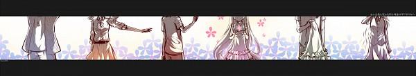 Tags: Anime, Monicanico, Ano Hi Mita Hana no Namae o Bokutachi wa Mada Shiranai., Hisakawa Tetsudou, Matsuyuki Atsumu, Anjou Naruko, Tsurumi Chiriko, Yadomi Jinta, Honma Meiko, Fanart, Pixiv, Super Peace Buster, We Still Don't Know The Name Of The Flower We Saw That Day