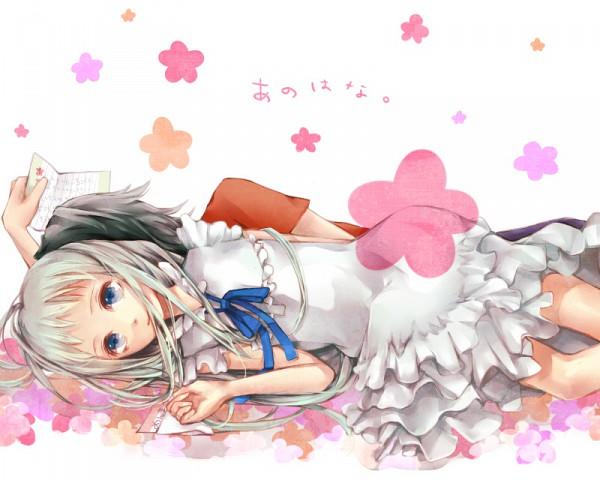 Tags: Anime, Pixiv Id 456331, Ano Hi Mita Hana no Namae o Bokutachi wa Mada Shiranai., Honma Meiko, Yadomi Jinta, Pixiv, Fanart, We Still Don't Know The Name Of The Flower We Saw That Day