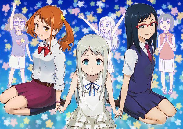 Tags: Anime, Hashi, Ano Hi Mita Hana no Namae o Bokutachi wa Mada Shiranai., Tsurumi Chiriko, Honma Meiko, Anjou Naruko, We Still Don't Know The Name Of The Flower We Saw That Day