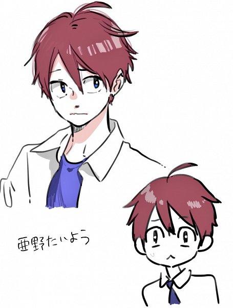 Tags: Anime, Morishita Suu, Hoshokukei Heroine ni Ato 1-nen Inai ni Taberaremasu, Ano Taiyou, Twitter, Official Art