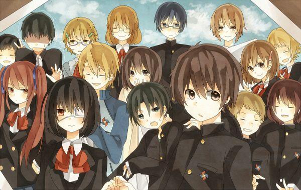 Tags: Anime, Pixiv Id 811335, Another, Sakakibara Kouichi, Ogura Yumi, Kazami Tomohiko, Misaki Mei, Ayano Aya (Another), Sakuragi Yukari, Fujioka Misaki, Mochizuki Yuuya, Saruta Noboru, Teshigawara Naoya